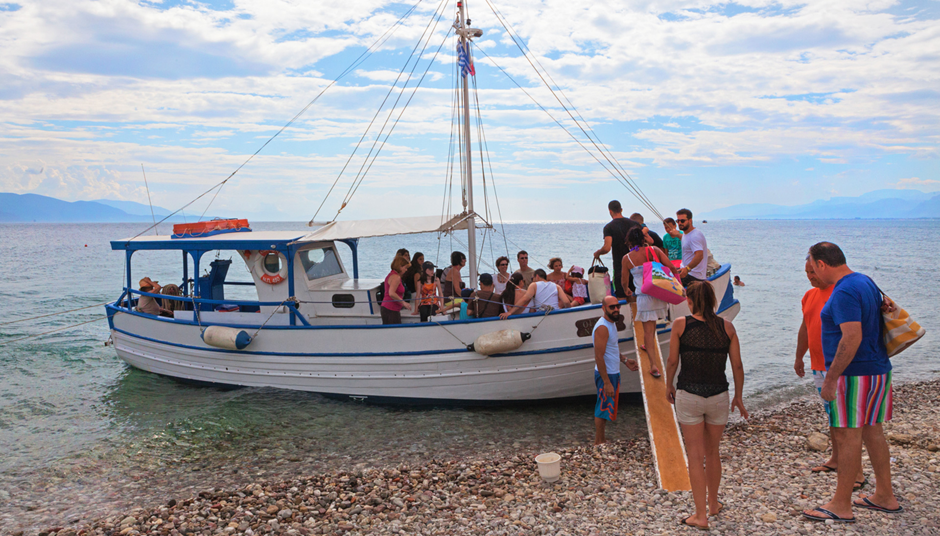 Boat Trip activity aigio